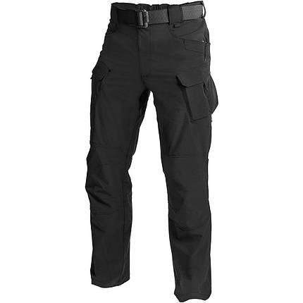 Штаны Helikon OTP Nylon Black Outdoor Tactical Pants (SP-OTP-NL-01) размер L/regular, фото 2