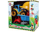 """Іграшка """"Малюк-будівельник 2 ТехноК"""", 3985 (3шт) в кор. 35 х 35 х 20.5 см"""