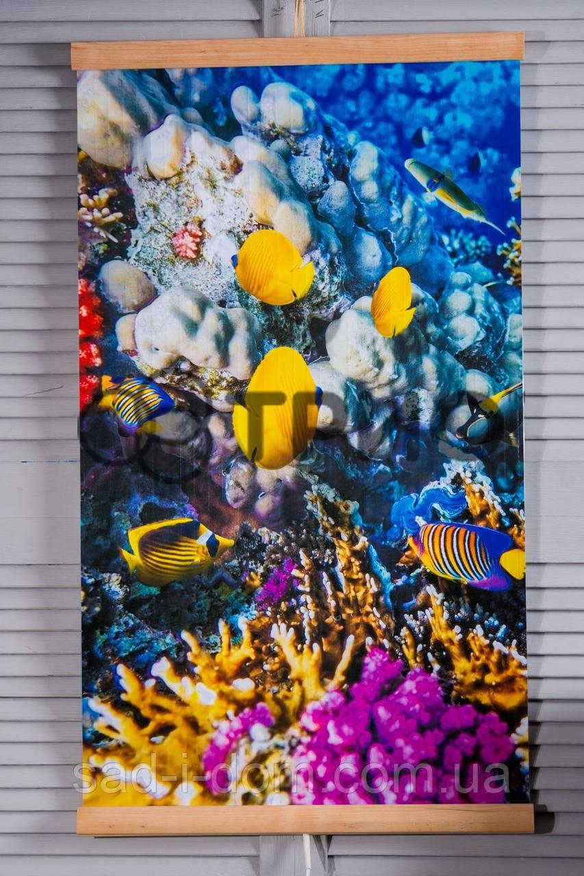 """Электрический настенный обогреватель-картина """"Коралловый риф"""""""