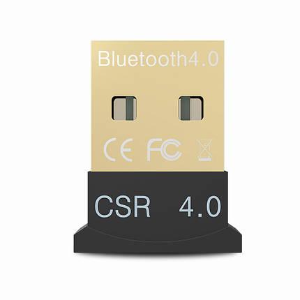 Mini Bluetooth адаптер Lesko CSR USB 4.0 USB блютуз 4.0 беспроводной, фото 2