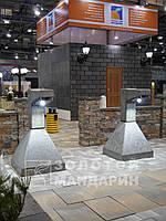 Ліхтар Техно Квадратний (бетон)