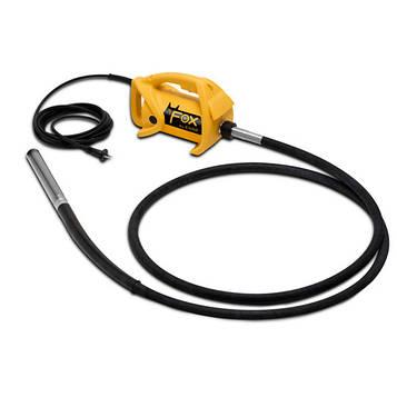 Глубинный вибратор ENAR FOX TAX, комплект - двигатель + вал TAX 4 + вибробулава AX 48