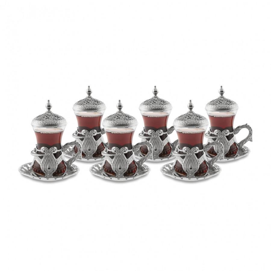Набор восточных стаканов для чая Sena Kusakli на 6 персон