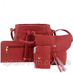 Набор сумок LADY BAG 1A Красный 3199 VJ