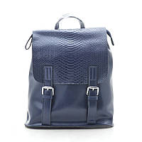 Рюкзак женский кожаный темно синий 185323, фото 1