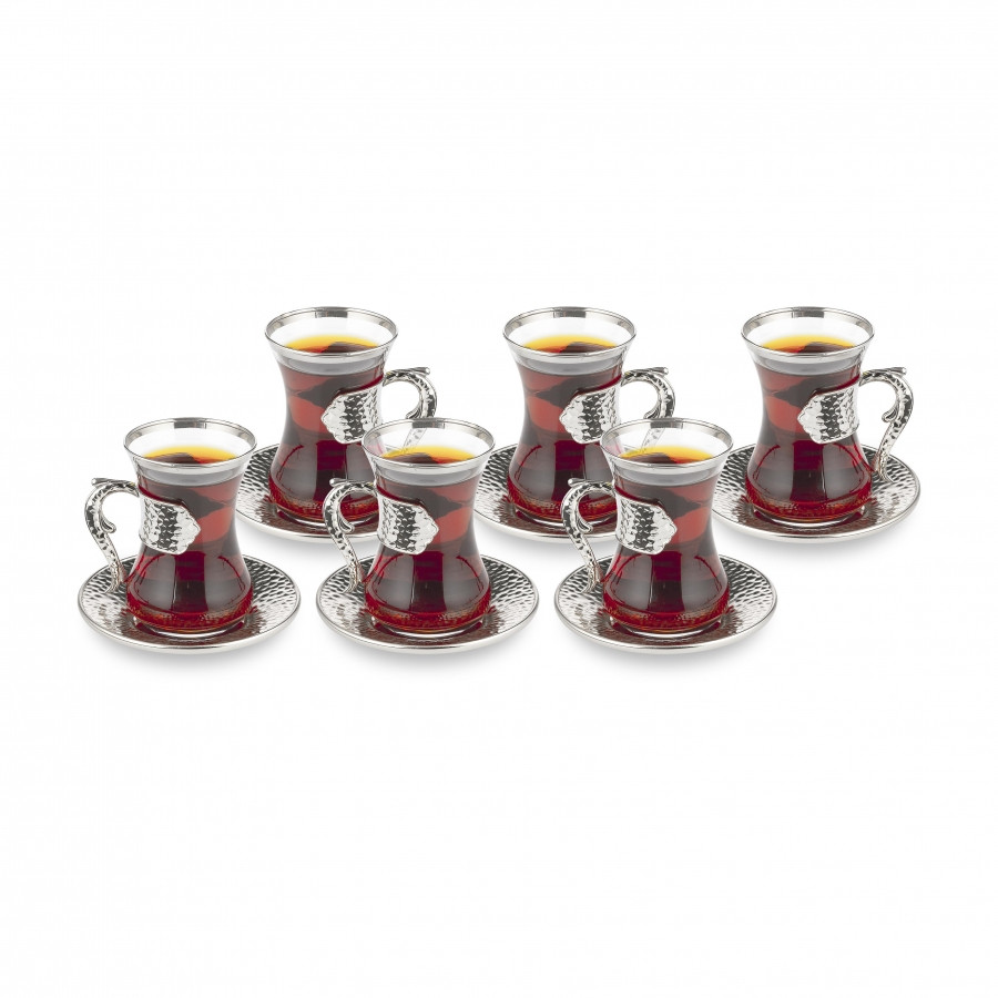 Набор восточных стаканов для чая Sena Damla на 6 персон