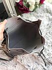 Женский рюкзак серого цвета из эко кожи, фото 2