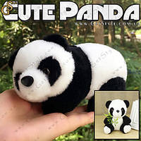 "Няшная панда - ""Cute Panda"" - 17 х 10 см. + Подарочный пакет!, фото 1"
