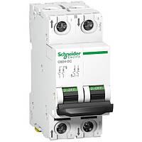 Автомат постоянного тока 2p 30А C60H-DC C Acti9 Schneider Electric