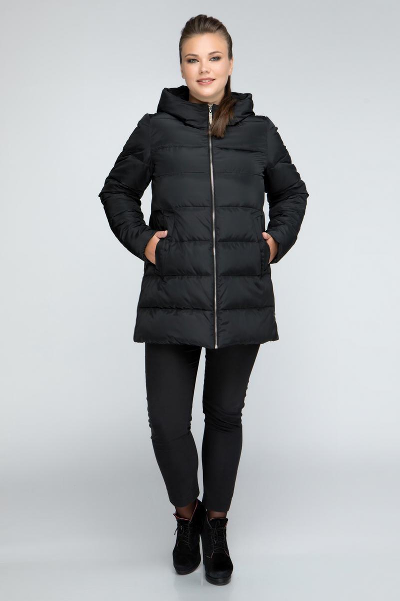 Женская зимняя куртка прямого покроя М-806 / размер 46,48,50