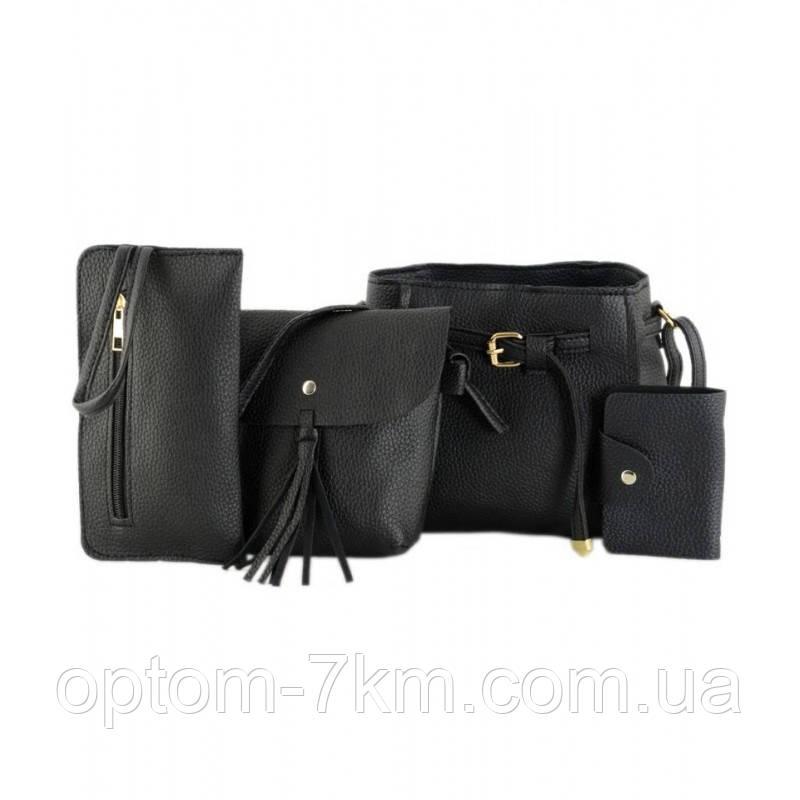Набір сумок LADY BAG 1A Чорний 3198 VJ