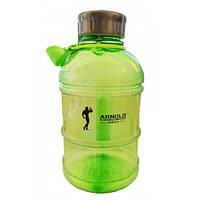 Бутылка для воды Muscle Pharm Arnold Series Hydrator 1 л зеленая