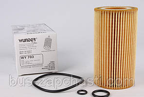 Масляный фильтр MB Sprinter, Vito 2.2/2.7 CDI 2000-2010 (OM611/612/646) — Wunder (Турция) — WY-703