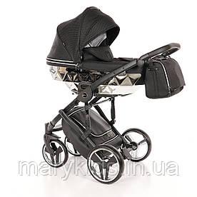 Детская универсальная коляска 2 в 1 Junama Mirror Blysk 03