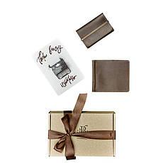 Мужской подарочный набор кожаных аксессуаров Лас-Вегас, фото 3