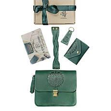 Женский подарочный набор кожаных аксессуаров Монреаль, фото 3