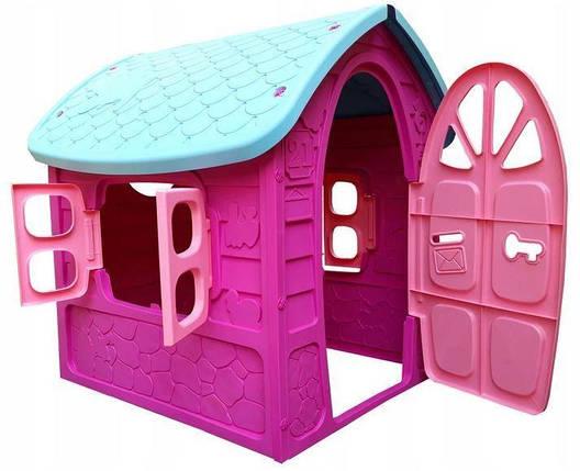 Детский  игровой домик Dorex (розовый), фото 2