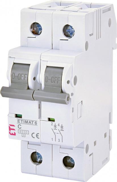 2-полюсные автоматы ETIMAT