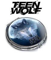 Карманное зеркало с волком Волчонок / Teen Wolf