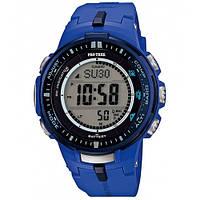 Мужские часы CASIO PRO TREK PRW-3000-2BER оригинал
