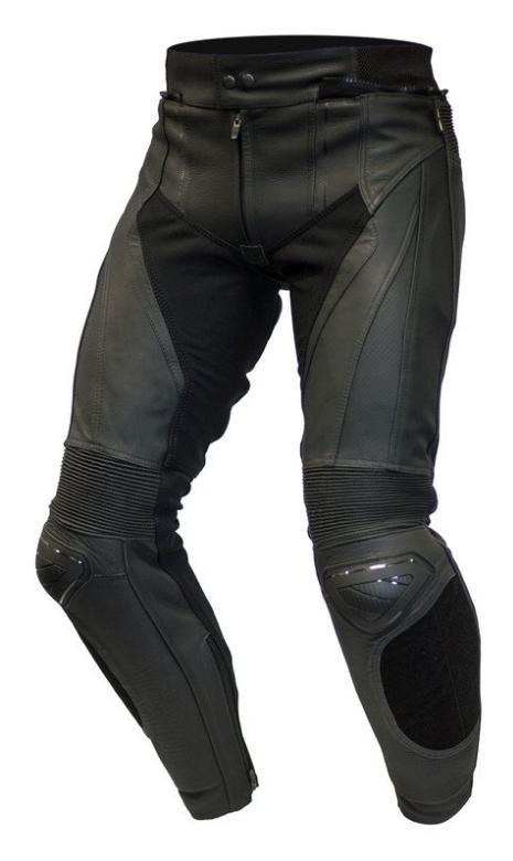 Мотоштаны кожаные Ozone Volt (Black)