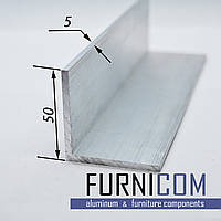 Уголок алюминиевый 50х50х5 / AS