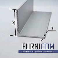 Уголок алюминиевый 50х50х3 / AS