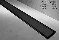 Трап для душа NEO 2in1 Pro Black 60 см