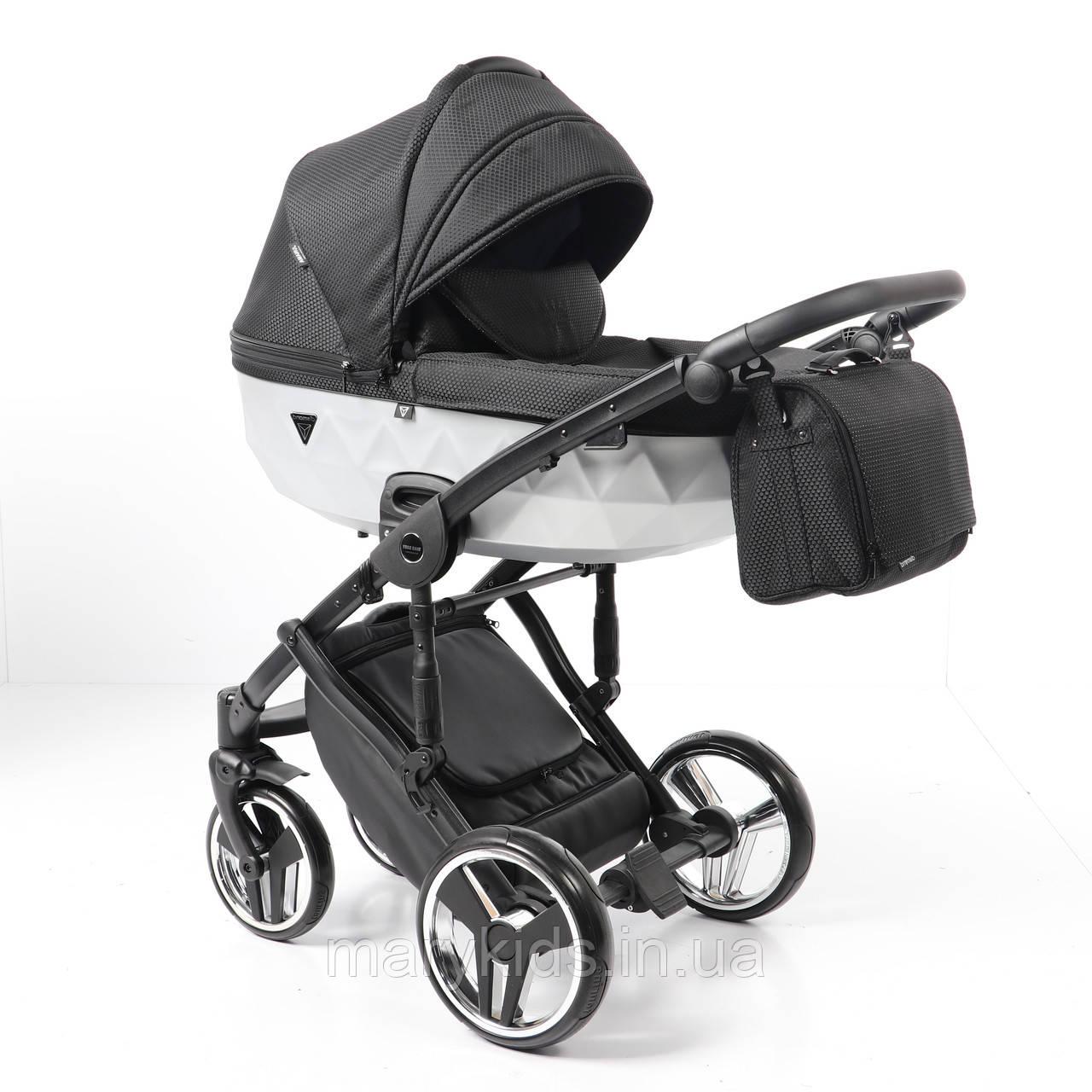 Детская универсальная коляска 2 в 1 Junama Mirror Satin 01