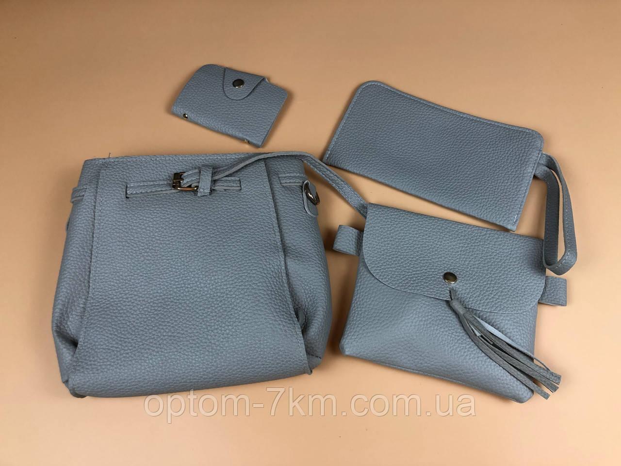 Набір сумок LADY BAG 1A Сірий 3200 VJ