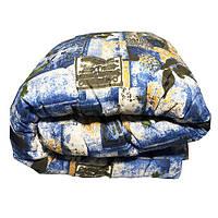 Одеяло Главтекстиль шерстяное размер евро 195*210 абстракция