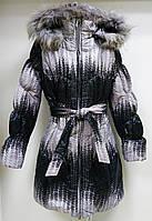 Детская  демисезонная куртка для девочки.Рост134-140см