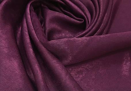 Ткань Софт-велюр Сливовый, фото 2