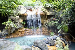 Скинали Водопад - стекло с фотопечатью