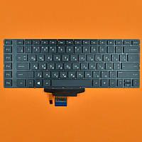 Клавиатура HP OMEN 15-5000 RU (чёрная, без рамки, с подсветкой)