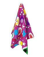 Детское пляжное полотенце Emmer CosmoZoo pink 70*140