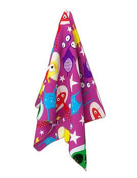 Детское полотенце из микрофибры Emmer CosmoZoo pink