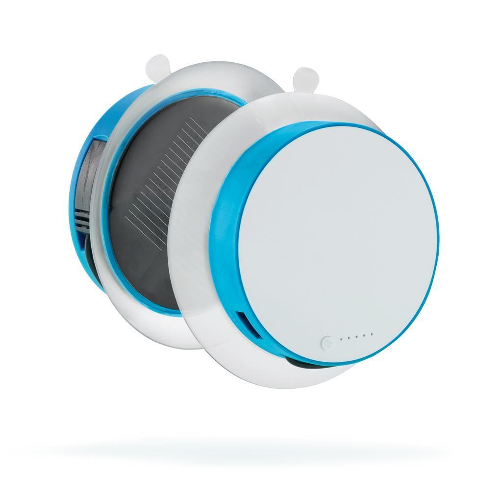 """Сонячне зарядний пристрій """"Port"""", блакитне"""