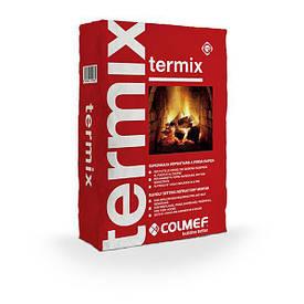 Состав для кладки огнеупорных элементов Termix RED (КРАСНЫЙ КИРПИЧ) \10кг