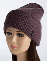 Зимняя женская шапочка Latte цвет пансе