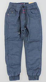 Утепленные котоновые, вельветовые брюки для мальчиков