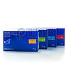 Нитриловые перчатки синие Nitrylex PF Blue текстурированные на пальцах, неопудренные, 50пар в упаковке XS