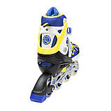 Роликовые коньки Nils Extreme NA1152A Size 31-34 Yellow, фото 2