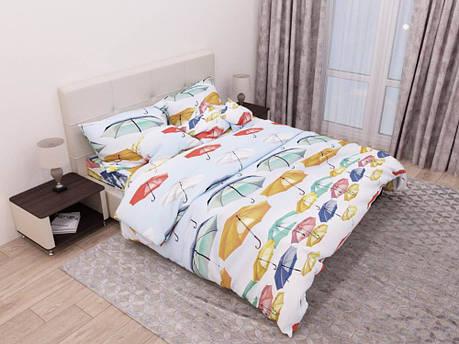 Постельное белье Зонтики бязь ТМ Комфорт-текстиль Двуспальный, фото 2
