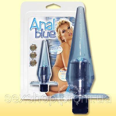Анальный вибратор Anal Blue