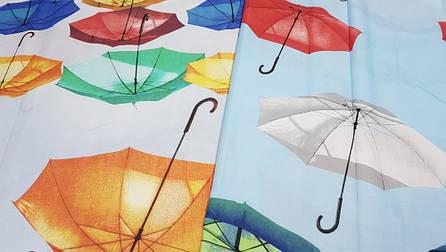 Постільна білизна Парасольки бязь ТМ Комфорт-текстиль Євро, фото 2
