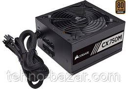 Блок питания Corsair CX Series CX750M ATX 80 PLUS Bronze 750 Вт (CP-9020123-EU)