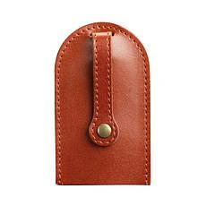 Кожаная ключница 2.0 светло-коричневая, фото 3