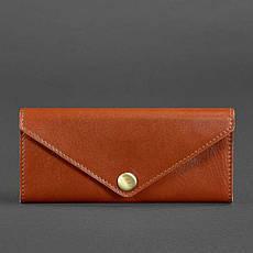 Женский кожаный кошелек Керри 1.0 светло-коричневый, фото 3