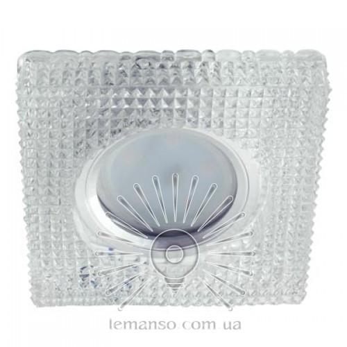 Спот Lemanso ST6306 прозрачный MR16 + подсветка 3W 6500K с драйвером